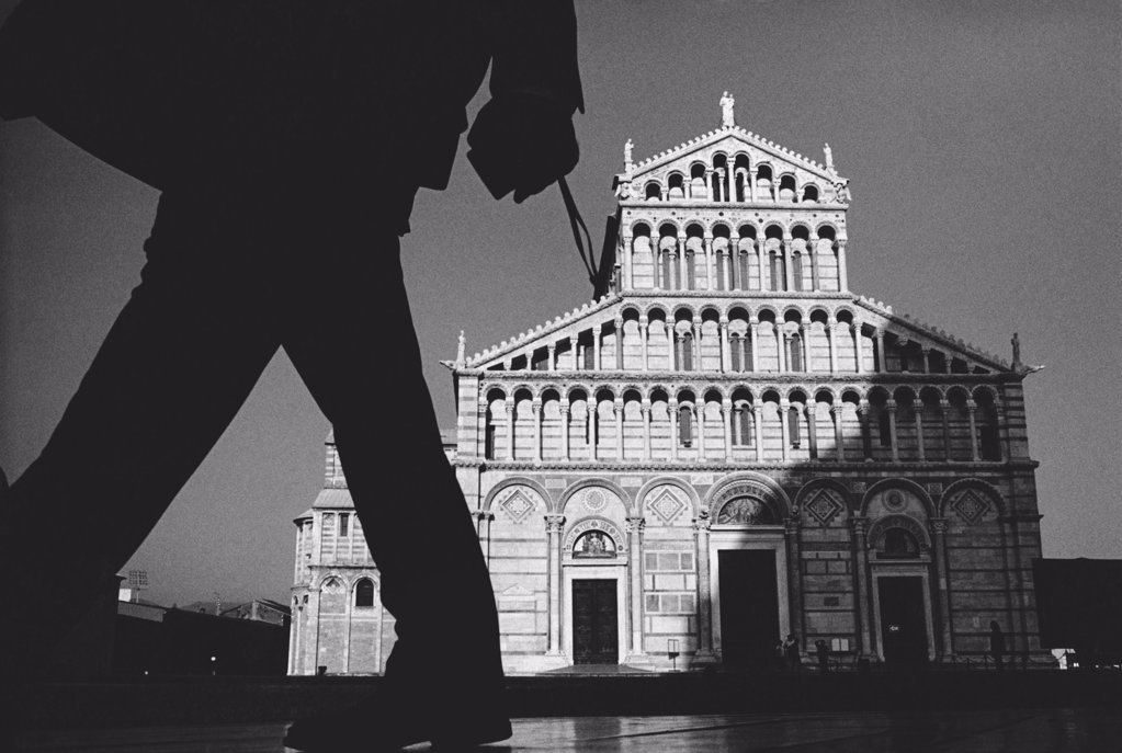 Stock Photo: 1838-2686 Shadow & Cathedral