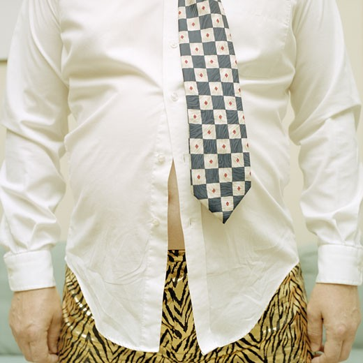 Stock Photo: 1838-3216 Fat Businessman