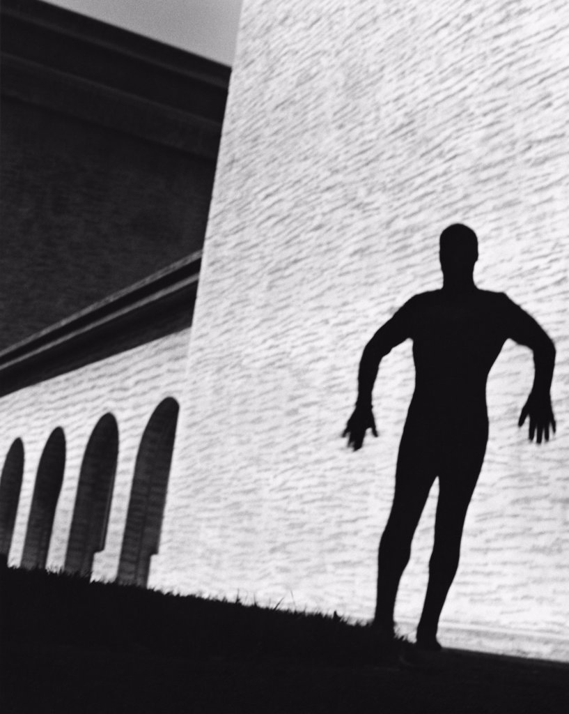 Shadow on Wall : Stock Photo