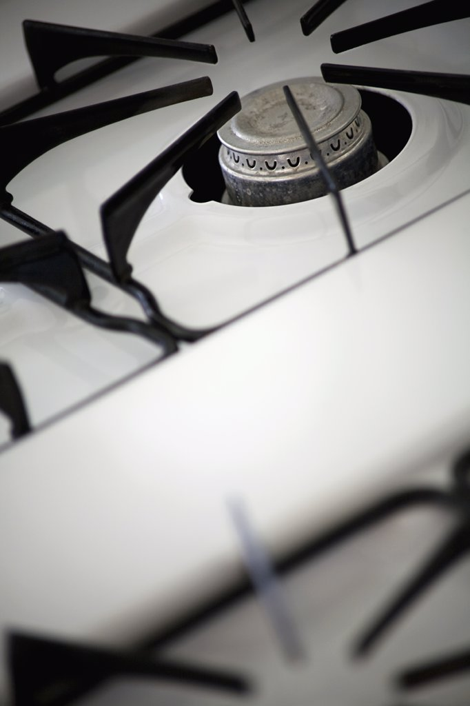 Stock Photo: 1838-4683 Stove Top Detail