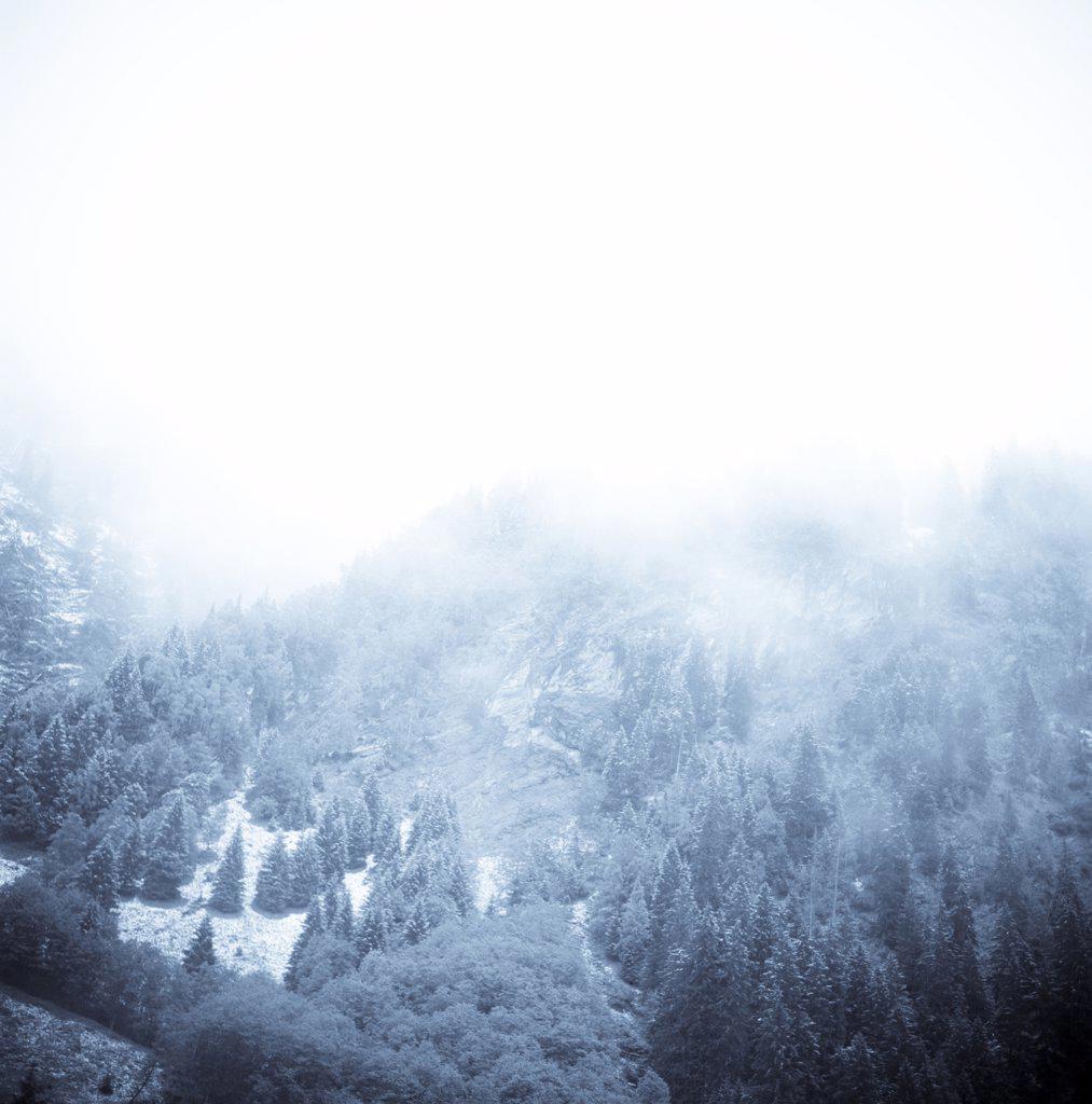 Alpine landscape at Felber Tauern, Austria : Stock Photo