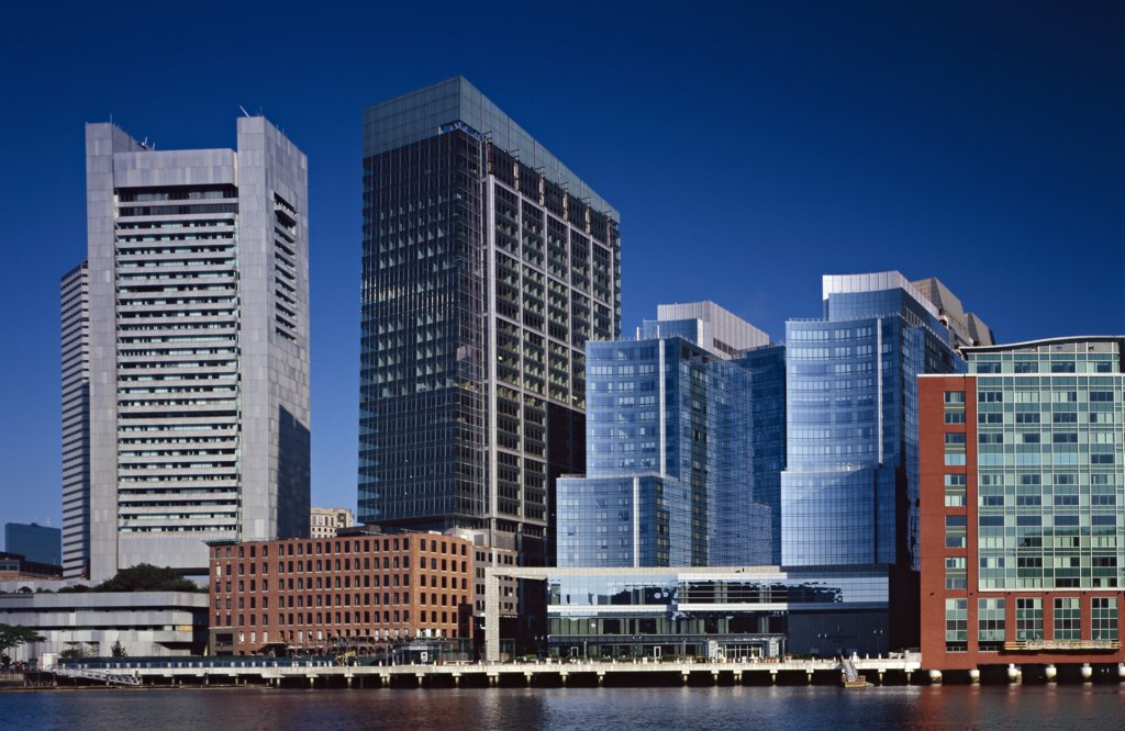 Stock Photo: 1838-7974 Skyline, Boston, Massachusetts, USA
