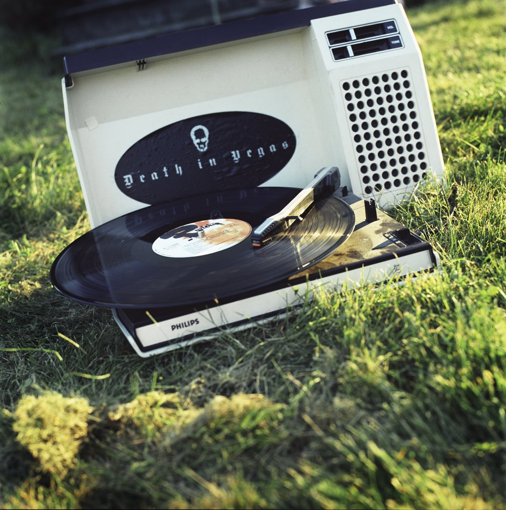 Stock Photo: 1838-8582 Portable Record Player