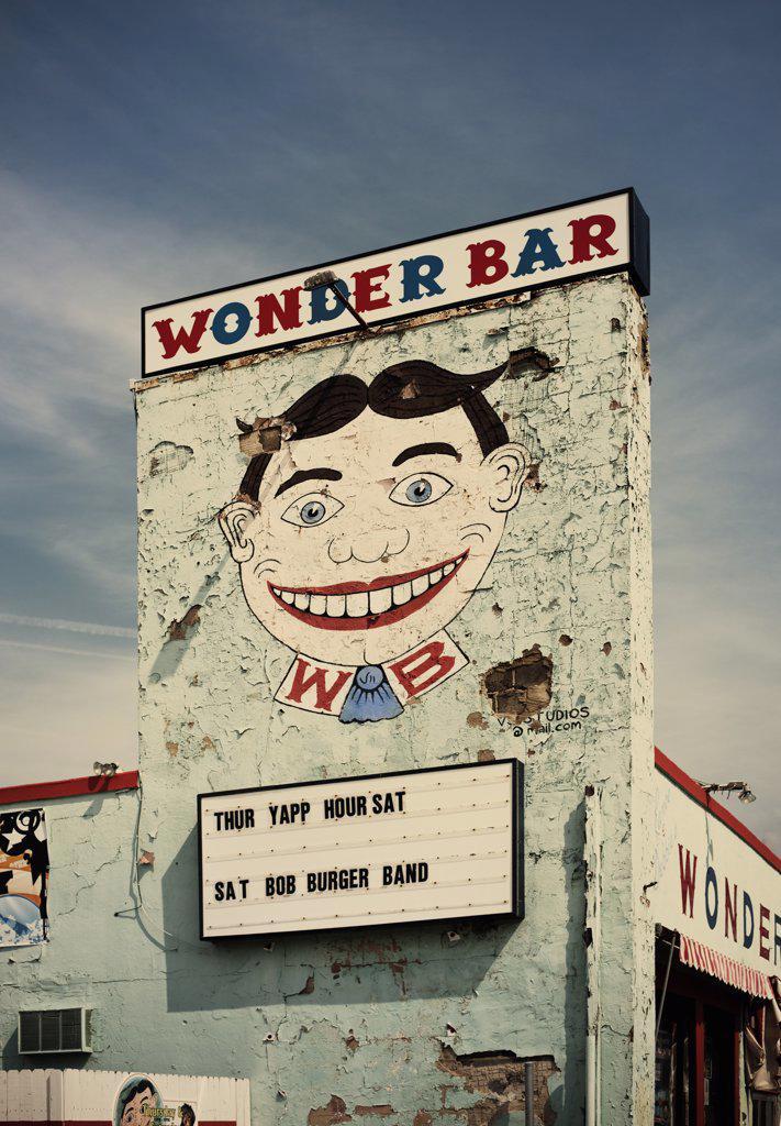 Wonder Bar Exterior, New Jersey, USA : Stock Photo