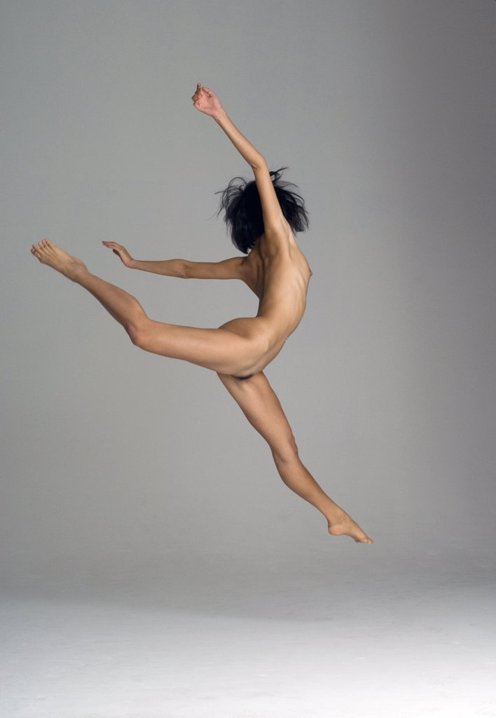 Stock Photo: 1838-9980 Nude  Female Dancer