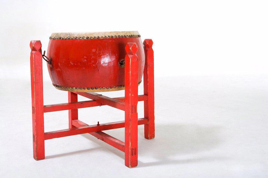 Chinese drum : Stock Photo