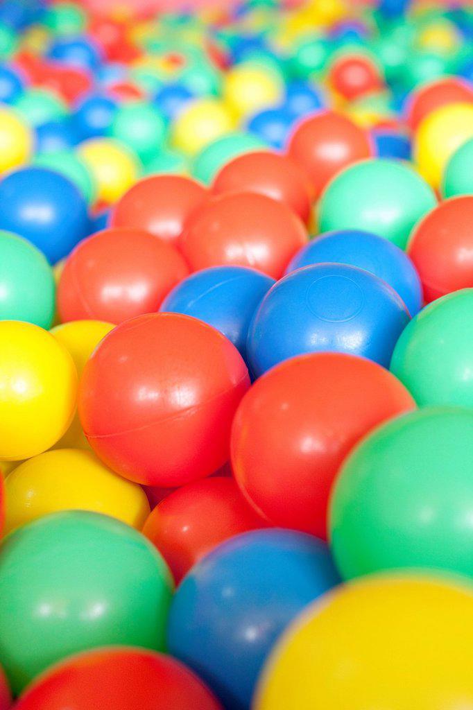 Ball Pool : Stock Photo