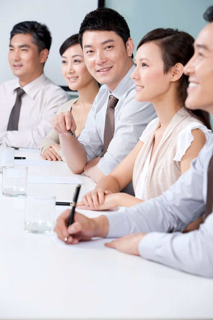 Stock Photo: 1839R-24332 Young Business Executive
