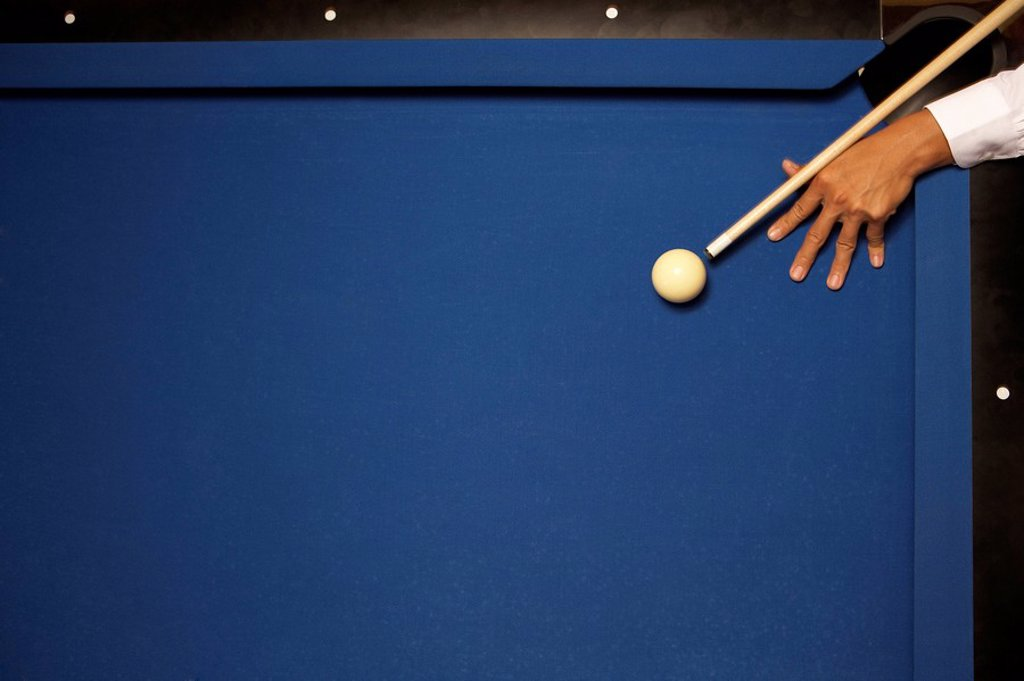 The shot _ billiards concepts : Stock Photo