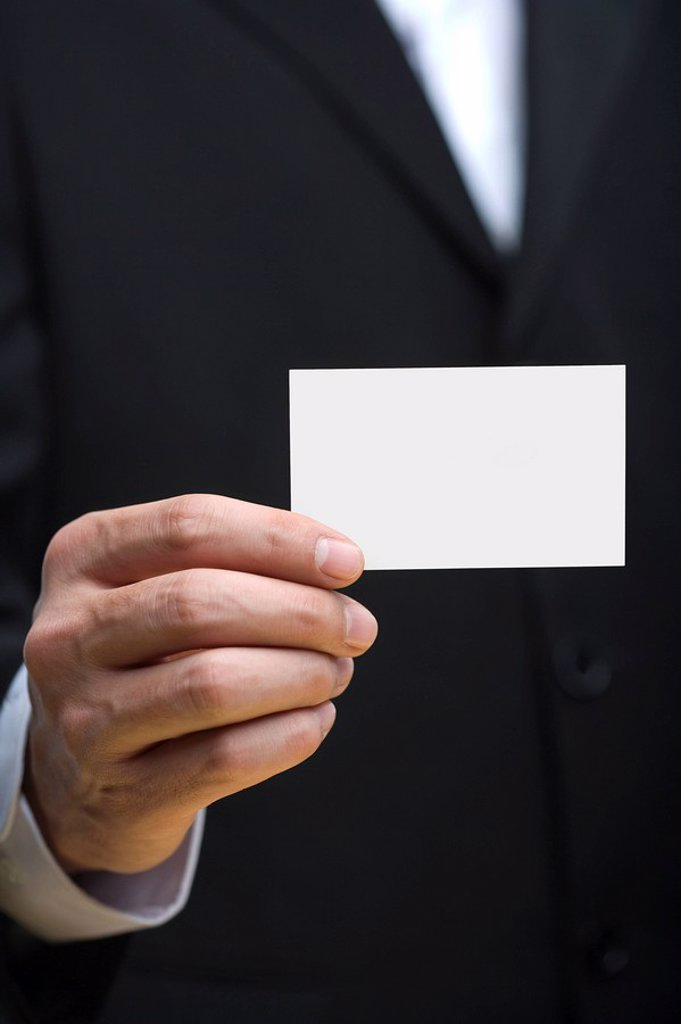 Stock Photo: 1839R-8054 Business card