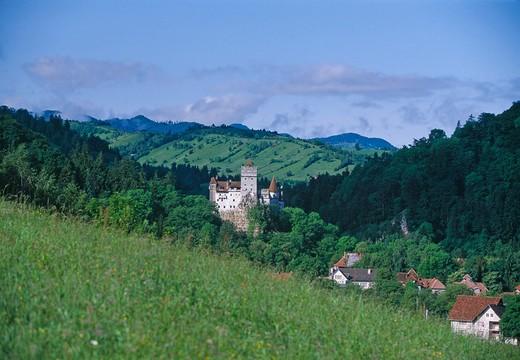 Stock Photo: 1840-13501 Brasov County, Bran Castle