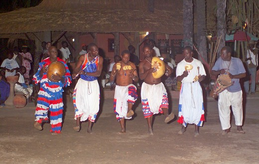 Makasutu, Tribal Fuller Dancers : Stock Photo