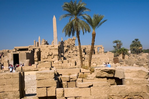 Luxor, Karnak Temple : Stock Photo