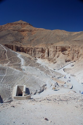 Stock Photo: 1840-16290 Luxor, Valley of the Kings