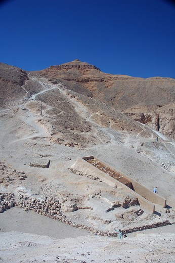 Stock Photo: 1840-16314 Valley of the Kings