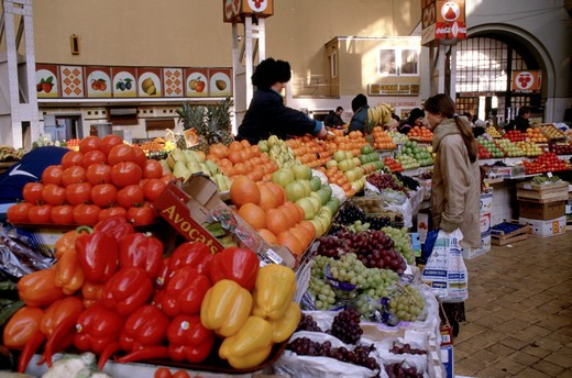Stock Photo: 1840-16569 Bessarabsky Market