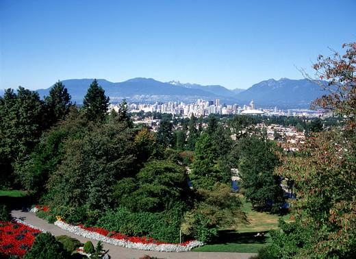 Vancouver, Queen Elizabeth Park : Stock Photo