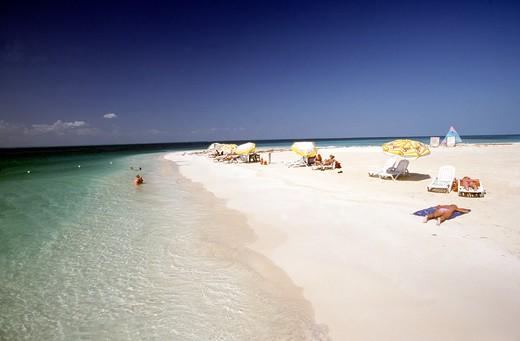 Isla Mujeres, Playa Cocteros : Stock Photo