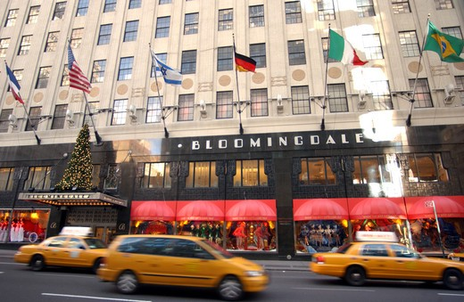 Stock Photo: 1840-18103 Bloomingdales On Lexington Avenue