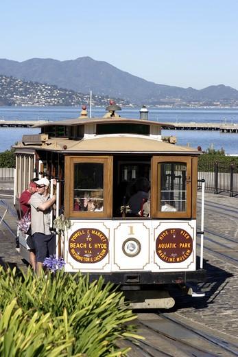 San Francisco Cable Car : Stock Photo