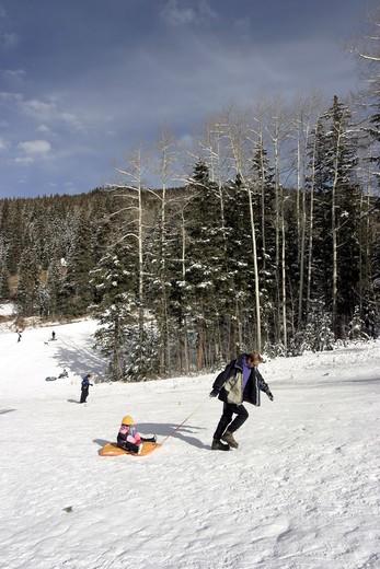 Santa Fe, Ski Resort : Stock Photo