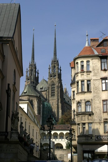 Southern Moravia, Brno, Cathedral : Stock Photo