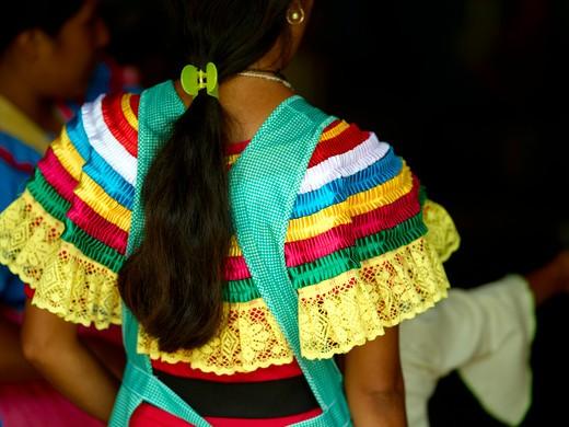 Ocosingo Town, Traditional Costume : Stock Photo