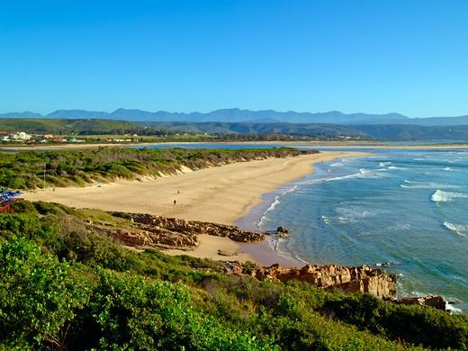 Stock Photo: 1840-20210 Plettenberg Bay, Lookout Beach