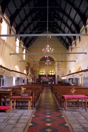 Kerala, Cochin, St Francis Church : Stock Photo