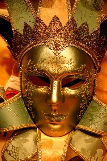 Stock Photo: 1840-20962 Venice,  Carnival Mask