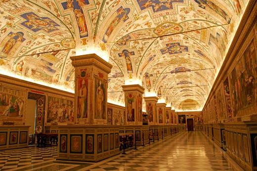 Rome, Vatican Museum : Stock Photo