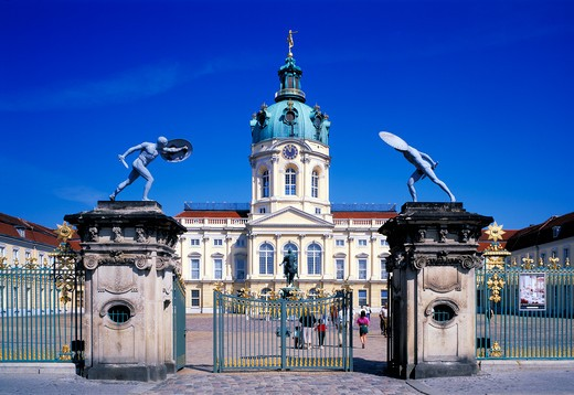 Berlin, Charlottenburg Castle : Stock Photo