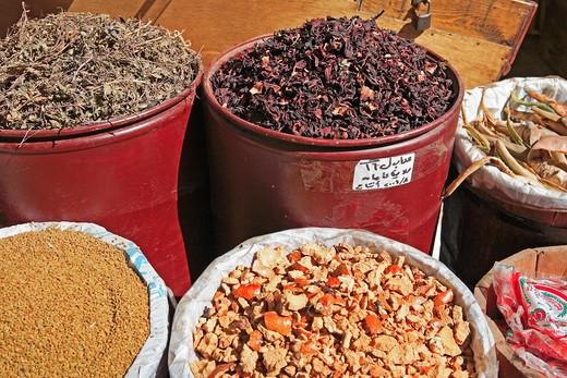 Spice Market, Alexandria : Stock Photo