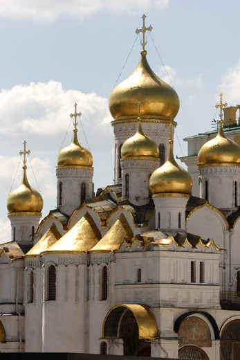 Kremlin, Annunciation Cathedral : Stock Photo
