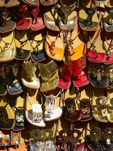Near Khan Al Khalili Souk Souvenirs For Sale : Stock Photo