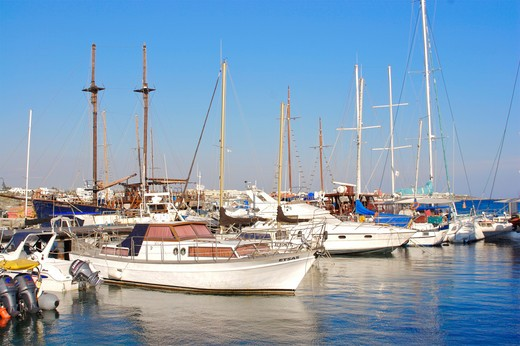 Paphos District, Paphos : Stock Photo