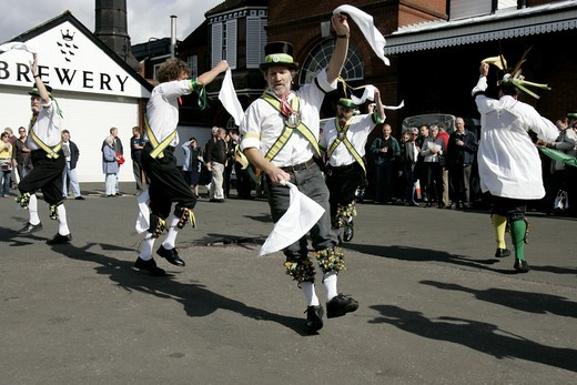 Lewes, Morris Dancers : Stock Photo