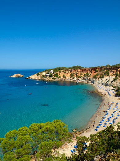 Ibiza, Cala D'hort : Stock Photo