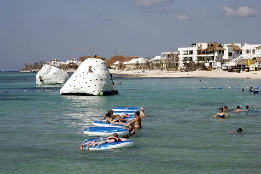 Stock Photo: 1840-24288 Cozumel, Beach Resort