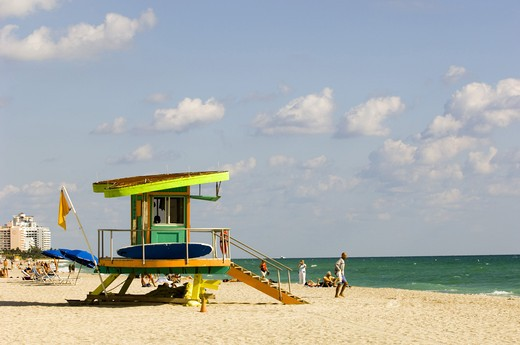 Stock Photo: 1840-25021 Miami, South Beach