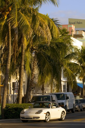 Stock Photo: 1840-25058 Miami, South Beach, Ocean Drive