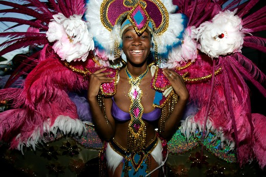 Stock Photo: 1840-25522 Trinidad and Tobago Carnival
