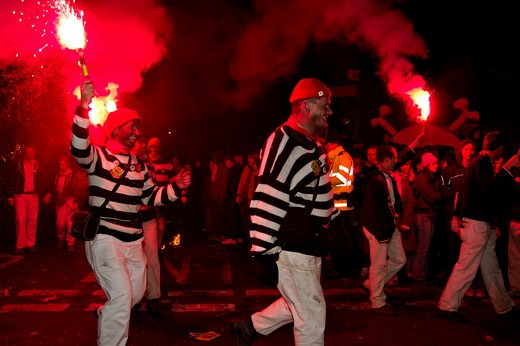 Lewes, Bonfire Night Celebrations : Stock Photo
