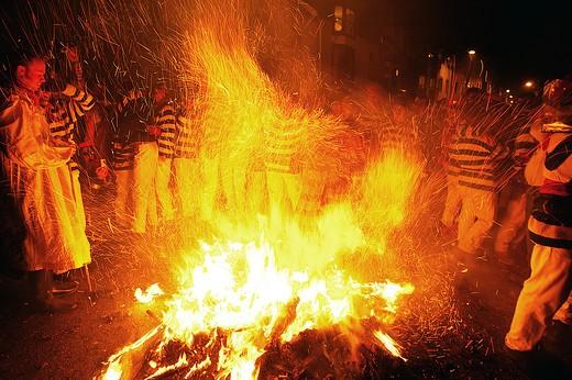 Lewes, Bonfire Night Celebrations : Stock Photo