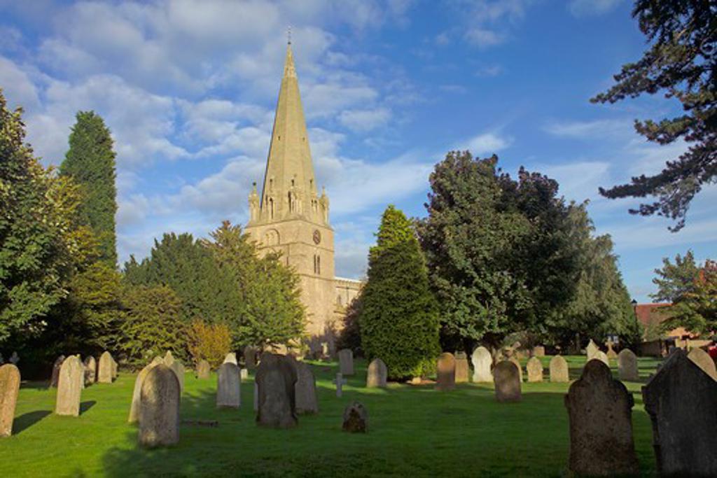 Stock Photo: 1840-29745 Edwinstowe, St Mary's Church
