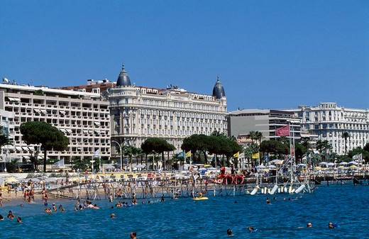 Stock Photo: 1840-29820 Cannes, Promenade de la Croisette