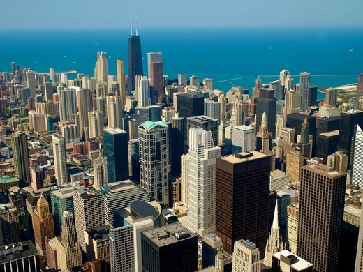 Stock Photo: 1840-30828 Chicago, Skyline