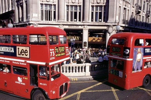 Oxford Street, Oxford Circus : Stock Photo
