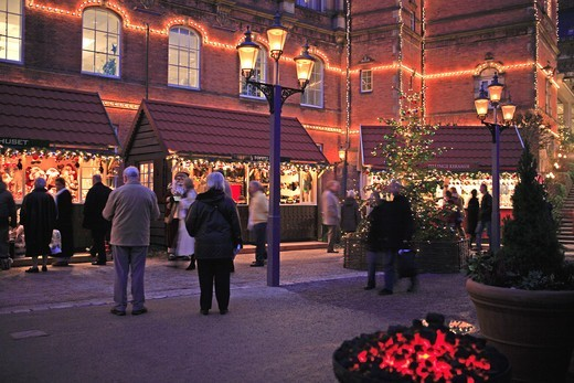Stock Photo: 1840-31483 Copenhagen, Tivoli Christmas Market