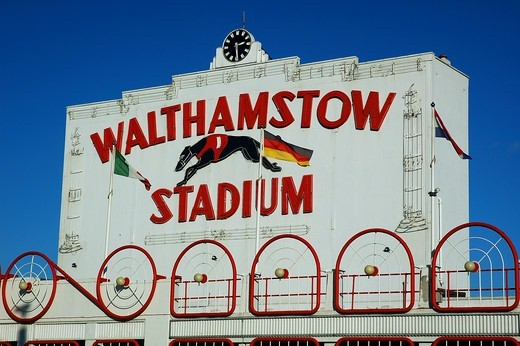 Walthamstow Dog Track Stadium : Stock Photo